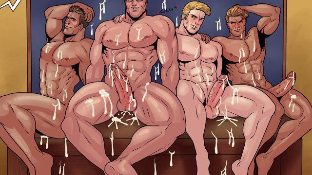 gay anime comic porn